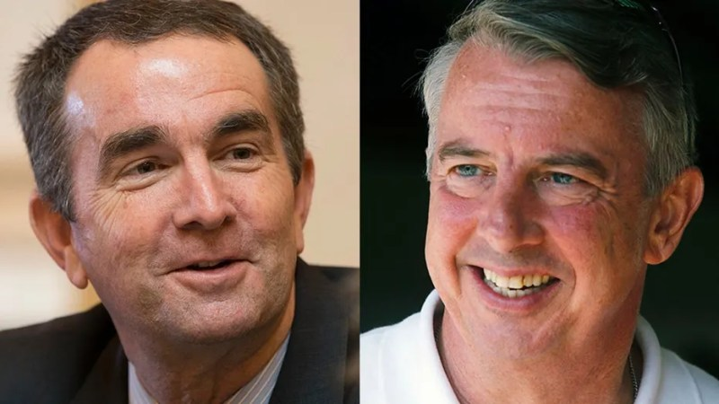 Virginia voters will head to the polls Nov. 7 to elect either Lt. Gov. Ralph Northam, left, a Democrat, or Republican Ed Gillespie as the state's next governor.