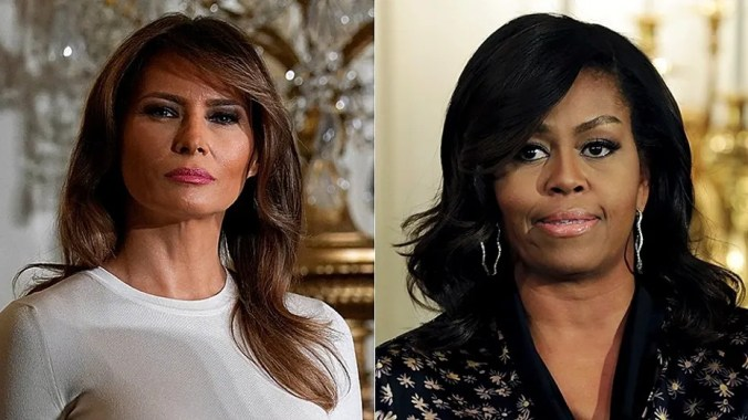 Melania Trump has significantly reduced the number of aides on government payroll in the first lady's office compared to former first lady Michelle Obama.