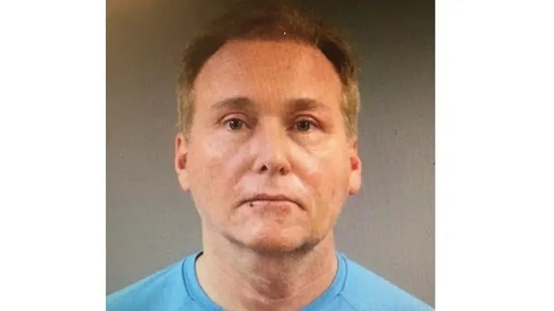 This photo provided by the Warren County Regional Jail shows Rene Boucher, who has been arrested and charged with badaulting and injuring U.S. Sen. Rand Paul of Kentucky. Kentucky State Police said in a news release Saturday, Nov. 4, 2017 that Paul suffered a minor injury when 59-year-old Rene Boucher badaulted him at his Warren County home on Friday afternoon. (Warren County Regional Jail via AP)