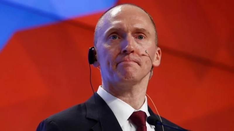 Former Trump adviser Carter Page says he communicated with members of the Trump campaign after the FBI began spying on him.