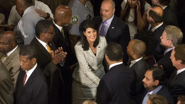 Image result for photos of nikki haley at the united nations