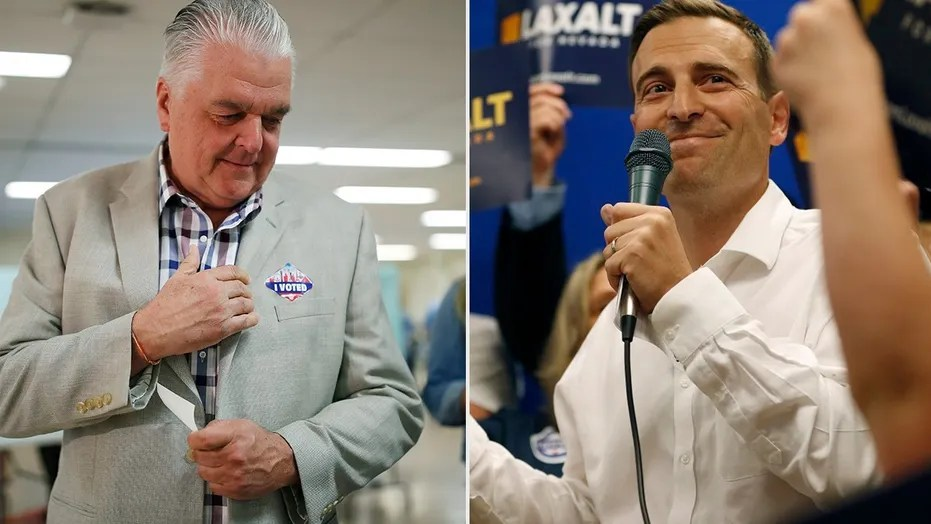 Republican state Attorney General Adam Laxalt and Democrat Steve Sisolak won their party's nomination on Tuesday to earn a spot on the ballot in November in Nevada's governor race.