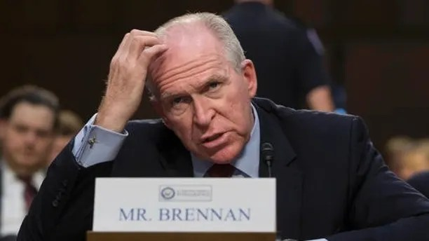"""CIA Director John Brennan testifies on Capitol Hill in Washington, Thursday, June 16, 2016, before the Senate Intelligence Committee hearing on the Islamic State. Brennan said that the Islamic State remains """"formidable"""" and """"resilient,"""" is training and attempting to deploy operatives for further attacks on the West and will rely more on guerrilla-style tactics to compensate for its territorial losses in the Middle East. (AP Photo/J. Scott Applewhite)"""