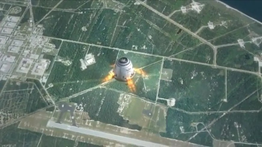 SpaceX's dragon capsule 2.0 looks like 'alien spaceship ...