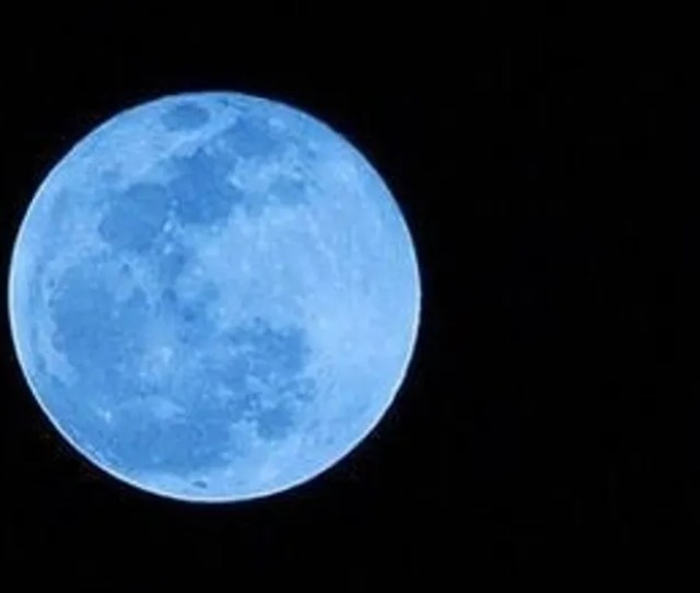 A Blue Moon Will Light Up The Sky On March