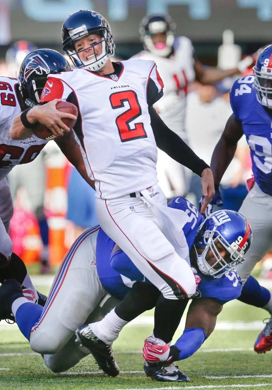 Falcons can't finish against Giants as road woes continue ...