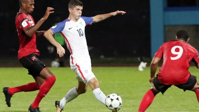 U.S. fans in Couva, Trinidad and Tobago were left stunned by the Americans' 2-1 loss that eliminated them from World Cup contention