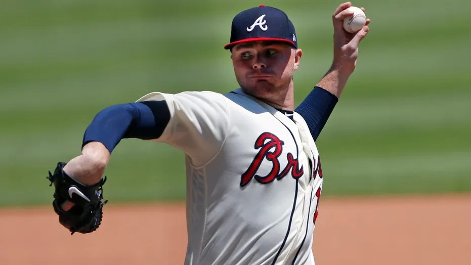 Sean Newcomb is in his second full major league season with the Braves