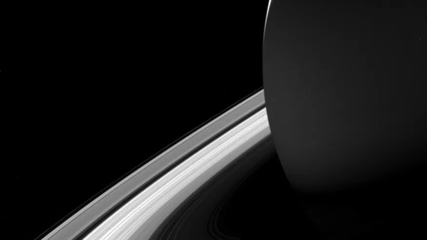 Wow! Saturn casts shadow on rings in gorgeous Cassini ...