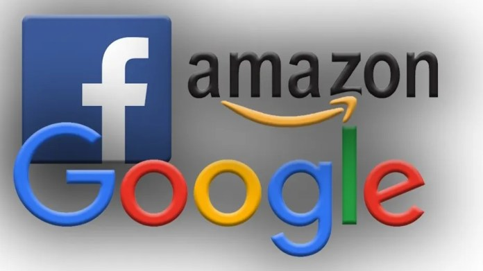 Facebook Google Amazon