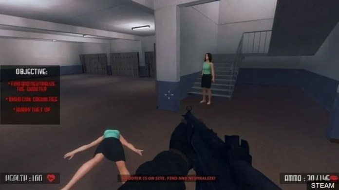 Acid Software, the developer of the school shooting video game is defending the product and vowing to continue selling it online as parents of slain children and other mass shooting victims work to get the game wiped off the internet.