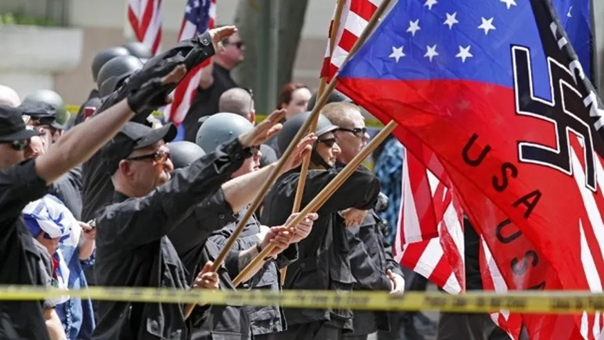 Image result for PHOTOS OF WHITE SUPREMACISTS