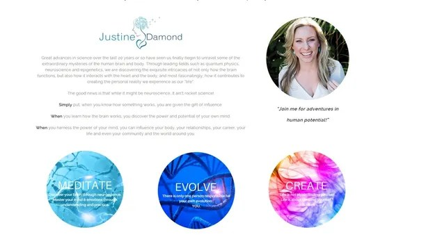 Justine Damond website