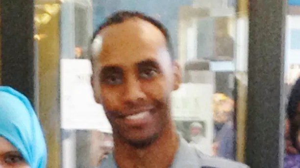 In this May 2016 image provided by the City of Minneapolis, police Officer Mohamed Noor poses for a photo at a community event welcoming him to the Minneapolis police force. Noor, a Somali-American, has been identified by his attorney as the officer who fatally shot Justine Damond, of Australia, late Saturday, July 15, 2017, after she called 911 to report what she believed to be an active sexual assault. Authorities have released no details about what led to the shooting of Damond. (City of Minneapolis via AP)
