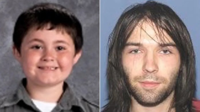 Devin Holston, 7, and person of interest Aaron Lawson, 23.