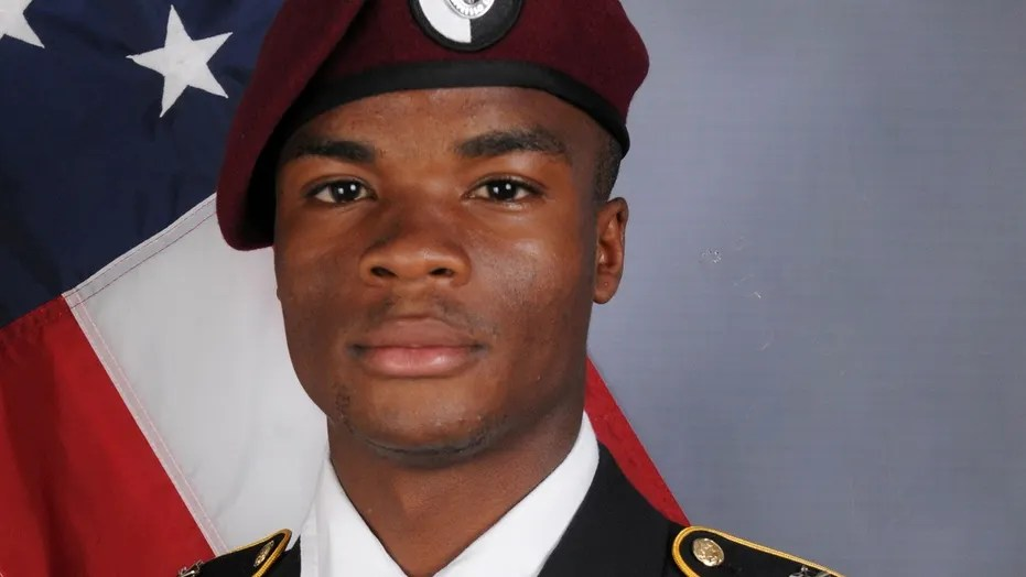 FILE: U.S. Army Sergeant La David Johnson, who was among four soldiers killed in Niger