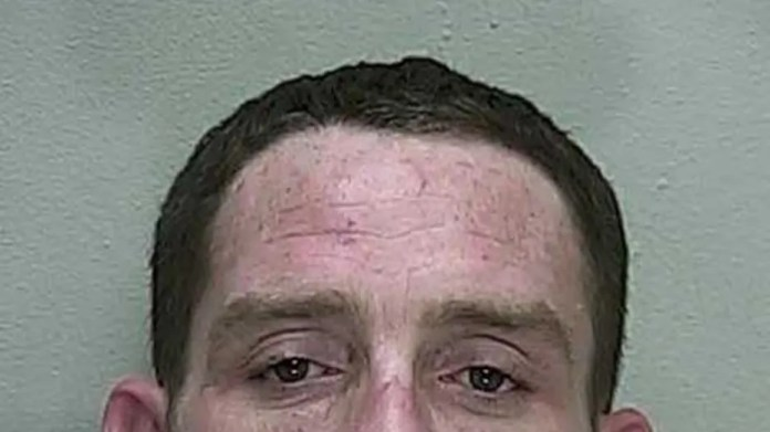 John Quincey Stephens shot up heroin while being pursued by police, authorities said.