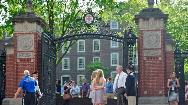Van Wickle Gates of Brown University (May 2012)