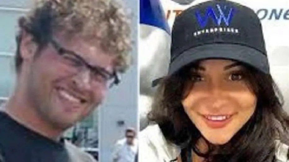 Blake Leibel, left, was found guilty of first-degree murder on Wednesday in the gruesome killing of Iana Kasian, right.