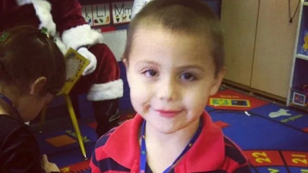 This undated photo provided by David Barron shows Anthony Avalos. Los Angeles County prosecutors have charged a mother and her boyfriend with murder and torture in the death of Avalos, the woman's 10-year-old son. Prosecutors said Friday, June 29, 2018 that Heather Maxine Barron and Kareem Ernesto Leiva are each charged with one count of murder and torture. (David Barron via AP)