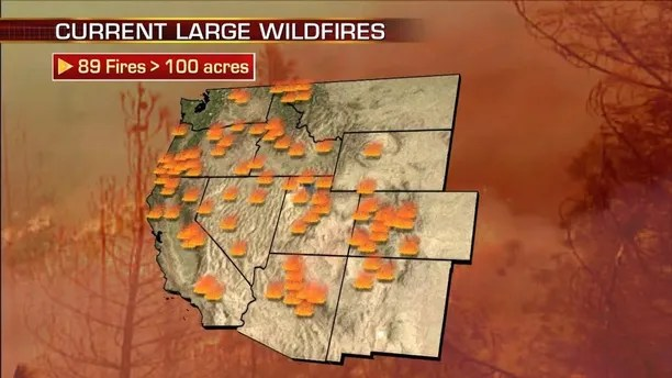 large wildfires