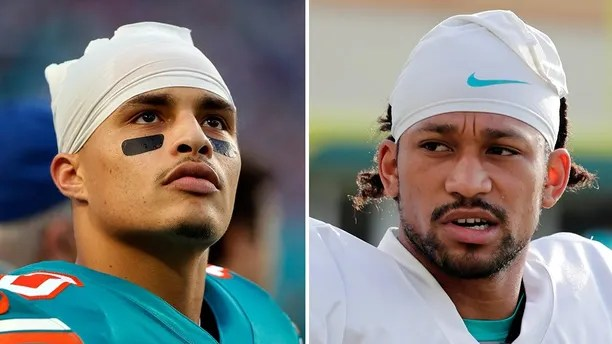 Miami Dolphins Kenny Stills and Albert Wilson. AP photos