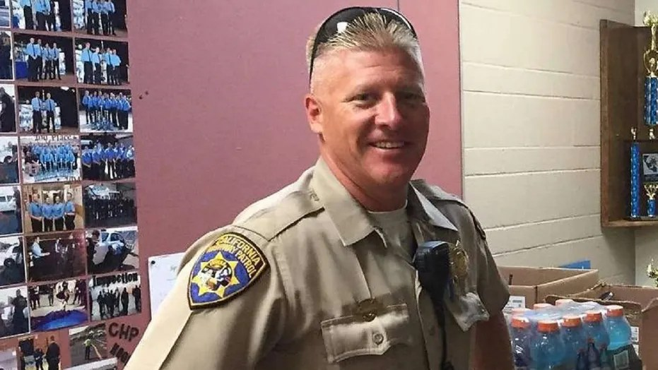 California Highway Patrol officer Kirk Griess, 46, died during an enforcement stop Friday morning, officials said.