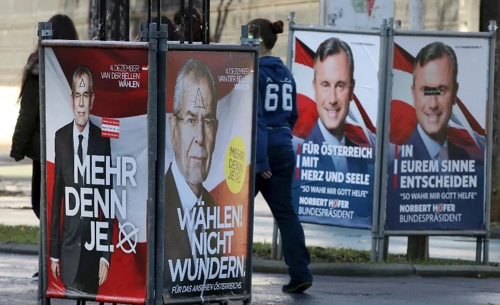 Trump effect unknown in tight Austrian presidential ...