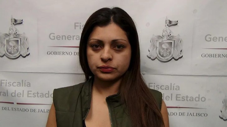 Johana Mary Hernandez was among 13 people arrested in Mexico for alleged ties to the New Generation Jalisco cartel in March 2016.