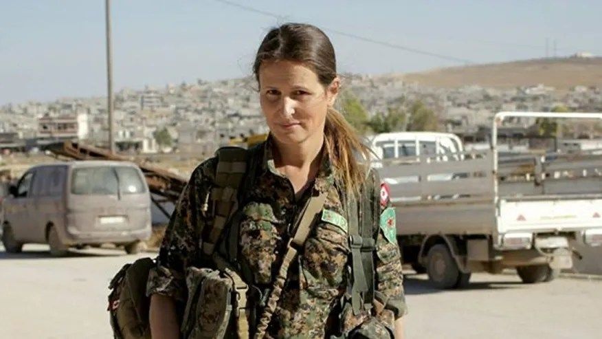 Hanna Bohman, a Canadian citizen, joined an all-female group of Kurdish soldiers to fight ISIS in Syria.