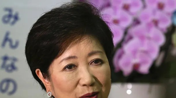 In this Aug. 29, 2016 photo, Tokyo Governor Yuriko Koike speaks during an interview in Tokyo. A newly elected leader of Tokyo has postponed a plan to relocate the world's biggest fish market. Gov. Yuriko Koike announced Wednesday, Aug. 31, 2016,  that she would decide on a new date only after an environmental assessment of the new site is completed in January.  (AP Photo/Koji Sasahara)