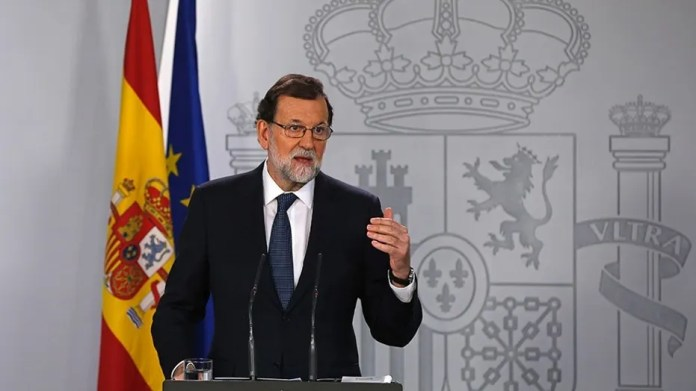 Spain's Prime Minister Mariano Rajoy, in a veiled threat, demanded the Catalonia government clarify if it has declared independence.