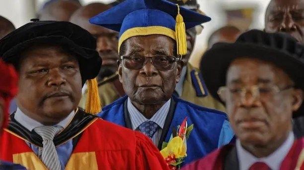 Mugabe graduation ceremony AP