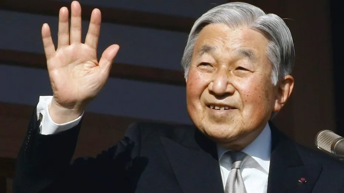 Emperor Akihito has sat on the Japanese throne since 1989