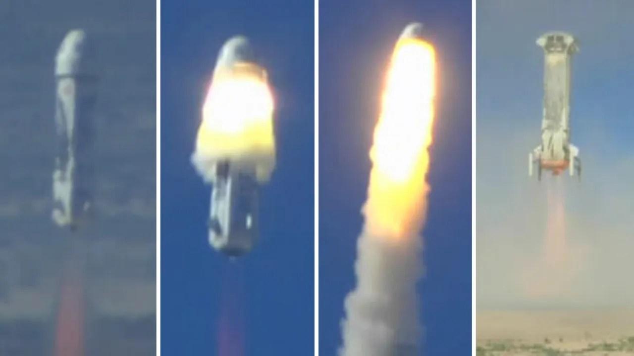 Mission successful: Blue Origin rocket tests emergency ...