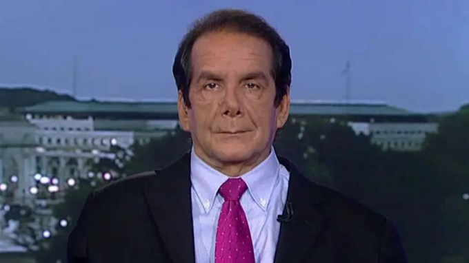 Charles Krauthammer said Monday on 'Special Report with Bret Baier' that Republican presidential nominee Donald Trumps performance during a primetime debate Sunday helped keep his campaign afloat amid dozens of weekend defections from the GOP.