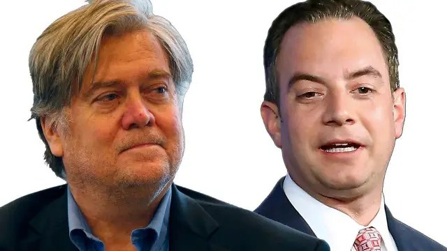 Image result for PRIEBUS AND BANNON