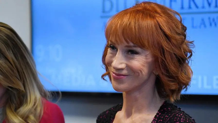 Comedian Kathy Griffin addresses the bloody Trump mask photo shoot and the backlash she has received since the incident caused national outrage