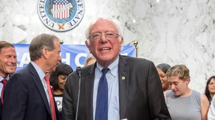 One-third of the Senate Democratic Caucus signed on to the single-payer healthcare bill introduced by Sen. Sanders; James Rosen has the details for 'Special Report'
