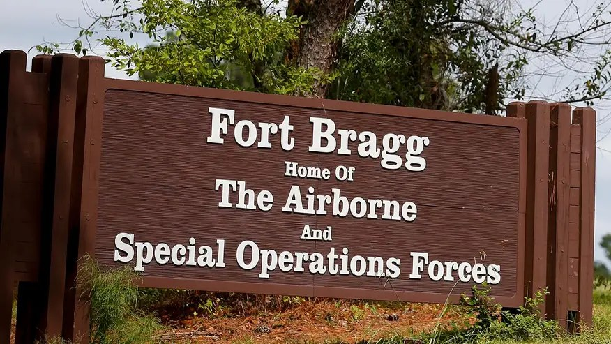 Fort Bragg officials have confirmed soldiers are hurt, but haven't given any more details