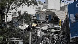 Dozens dead after earthquake hits Mexico
