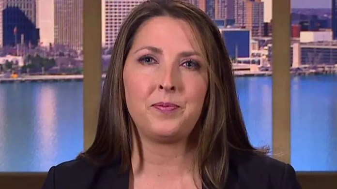 RNC chairwoman reacts to report of job losses amid hurricanes, provides insight on tax reform efforts.