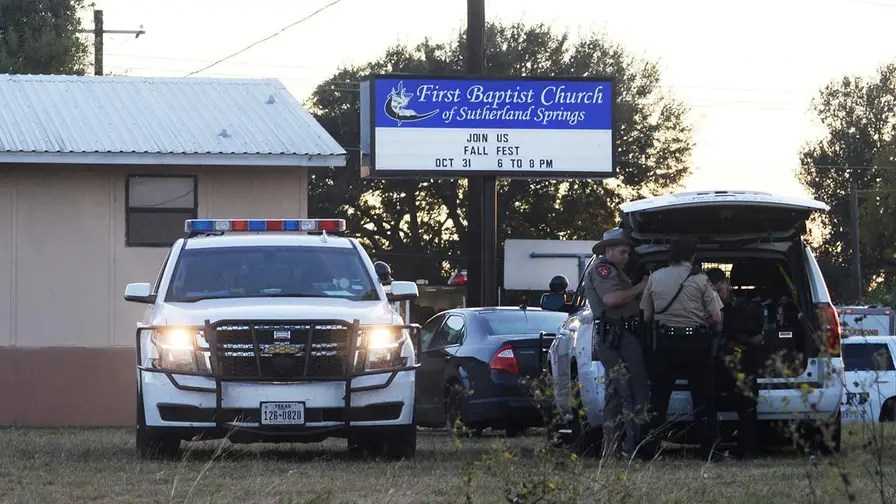 New calls for armed security in light of Texas shooting.