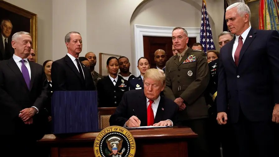 Image result for trump military budget