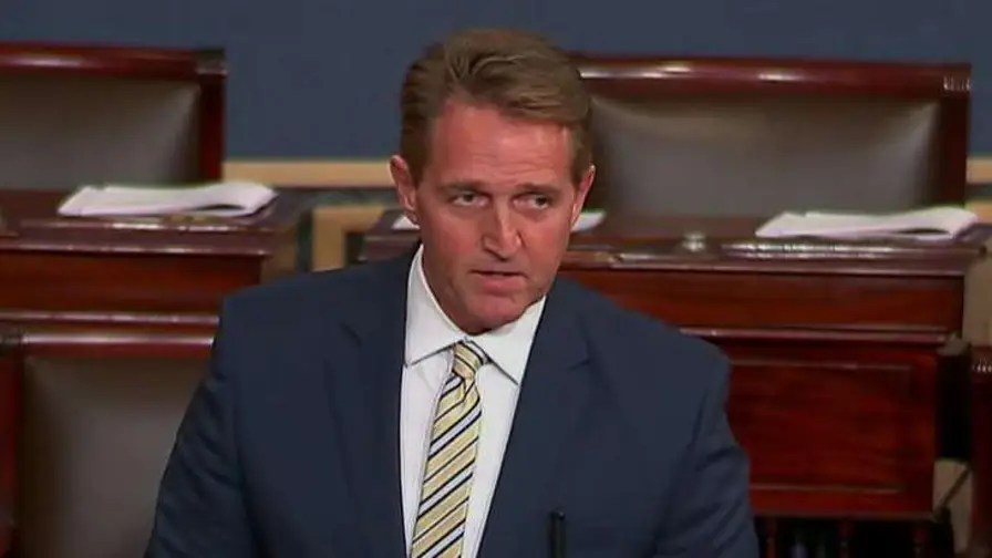 The Republican gives remarks on the Senate floor on the president's 'attacks' on the truth.