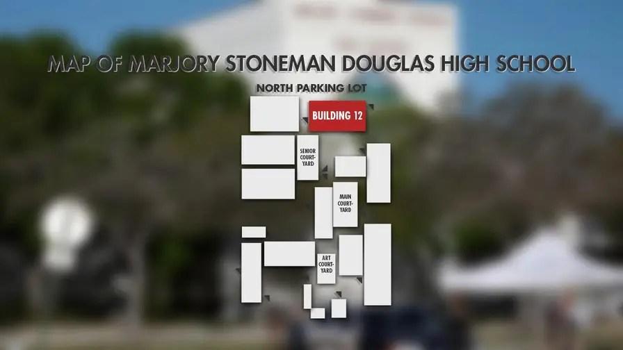 Parkland Campus Map.Florida School Shooting Survivors Dread Parkland Campus Return Times