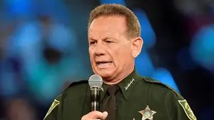 Pushes back against questions about deputies' conduct during the Parkland school shooting.