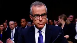 Jill McCabe blames President Trump, the press for the FBI deputy director's dismissal; reaction from Tom Fitton, president of Judicial Watch.
