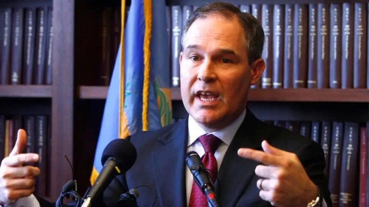 The EPA released a statement addressing the administrator's large security detail while Scott Pruitt also faces scrutiny over a housing deal and improper staff raises.