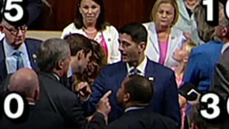 Tensions spill onto House floor over immigration reform; reaction from Fox News political analyst and former Speaker of the House Newt Gingrich.